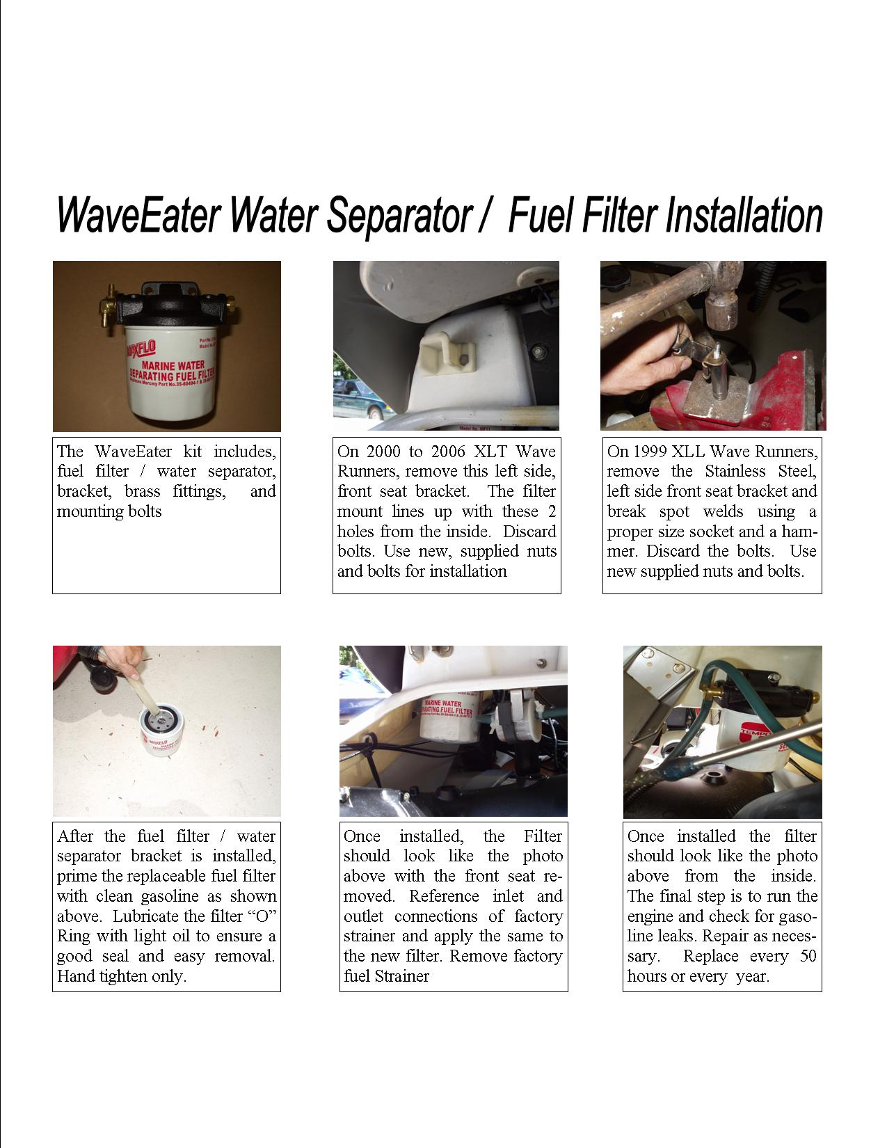Fuel Filter Wave Eater Products Boat Filters